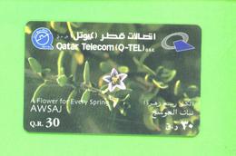 QATAR - Remote Phonecard As Scan