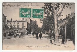 CAHORS - Le Boulevard Gambetta - édit. ND. Phot. 102 - Cahors