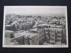 ISRAEL PALESTINE TEL AVIV PANORAMA BUILDING PICTURE POSTCARD PHOTO POST CARD PC STAMP