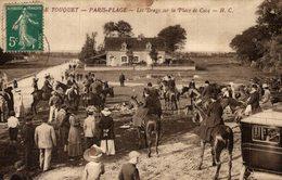 LE TOUQUET PARIS PLAGE LES DRAGS SUR LA PLAGE DE CUCQ - Le Touquet