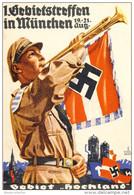 @@@ MAGNET - Hitler Jugend. 1st District Meeting 1933, HOCHLAND - Pubblicitari