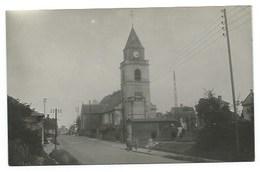 80 - CONDE-FOLIE - L'Eglise Et Route D'Amiens - CPSM - France