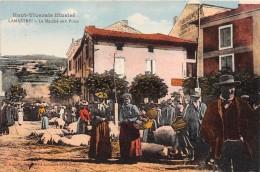 07 - ARDECHE / Lamastre - Le Marché Aux Porcs -  Beau Cliché Animé - Lamastre
