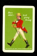 Speelkaart ( 0141 ) 1 Losse Kaart - Publicité Reclame  Wijn Likeur Liqueur Distillerie Stokerij - John Walker - Barajas De Naipe