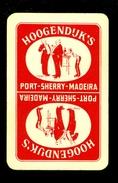 Speelkaart ( 0145 ) 1 Losse Kaart - Publicité Reclame  Wijn Likeur Liqueur Distillerie Stokerij -  HOOGENDIJK' S - Barajas De Naipe