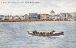 CPA - Worthing - From Pier Showing Lifeboat - Worthing