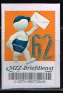 MZZ Briefdienst, Postbote, Standardbrief  Porto 0,62 Euro - [7] République Fédérale
