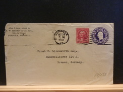67/158  ENVELOPPE USA  1932