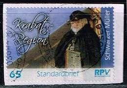 RPV, Schwarzer Müller, Standardbrief 65 Cent - Privatpost