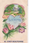 Carte 1925 SOUVENIR DE CHEF BOUTONNE - Chef Boutonne