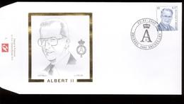 2000 - Fdc  - Obp 2886 - Koning King Roi Albert II  Type Broux MVTM - Cote Euro 5,00 - 1991-00
