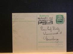 67/154  CP COUPE A GAUCHE   ELZAS  FLAMME  1941 STRASBOURG - Alsace-Lorraine