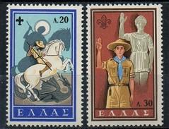 PIA - GRECIA - 1960 : Cinquantenario Dello Scoutismo Nazionale  - (Yv 705-12) - Grecia