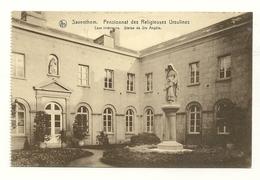 Saventhem : Pensionnat Des Religieuses Ursulines : Cour Intérieure . Statue De Ste Adèle - Zaventem