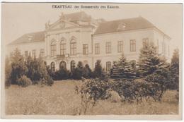 Ekartsau Der Sommersitz Des Kaisers Old Unused Photopostcard (Phot. Br. Schuhmann, Wien 1918, Verl Bruder Kohn) B170125 - Gänserndorf