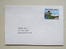 Cover From Papua New Guinea Sent To Singapore Satellite Radio 1996 - Papua New Guinea