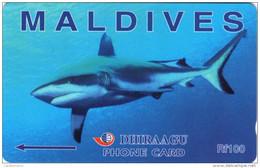 *IS. MALDIVE: 140MLDC* - Scheda Usata - Maldives