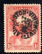 Xp2166 - TASMANIA 1 Pence Wmk V On Crown Used - 1853-1912 Tasmania