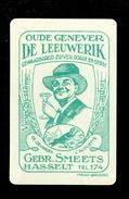 Speelkaart ( 0155 ) 1 Losse Kaart - Publicité Reclame  Wijn Likeur Liqueur Distillerie Stokerij - Smeets  Hasselt - Barajas De Naipe