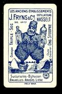 Speelkaart ( 0156 ) 1 Losse Kaart - Publicité Reclame  Wijn Likeur Liqueur Distillerie Stokerij - Fryns  Hasselt - Barajas De Naipe