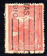 Xp2173 - TASMANIA 1 Pence Wmk  Crown On A Used. - 1853-1912 Tasmania