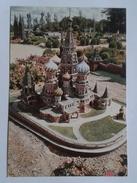 TIVOLI MINIATURE WORLD - ST. BASIL CHURCH AND THE CREMLIN-MOSCOW RUSSIA (5264) - Edificio & Architettura