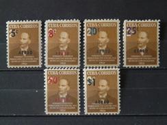 CUBA  1952 Poste Aérienne Série Neuve *  - TB (voir 2 Scan) - Luftpost