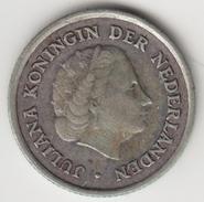 @Y@    Nederlandse Antillen  10 Cent  1962  ( 4565 )  Zilver - Netherland Antilles