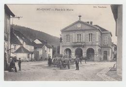 39 - BEAUFORT / PLACE DE LA MAIRIE - Beaufort