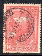 Xp2180 - TASMANIA 1 Pence Wmk  Crown On A (SIDEWAYS) Used. - 1853-1912 Tasmania