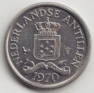@Y@    Nederlandse Antillen   10 Cent  1970 ( 4568 ) - Netherland Antilles