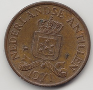 @Y@    Nederlandse Antillen   2 1/2  Cent  1971 ( 4574 ) - Antilles Neérlandaises