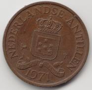 @Y@    Nederlandse Antillen   2 1/2  Cent  1971 ( 4575 ) - Antilles Neérlandaises