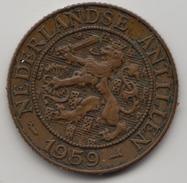 @Y@    Nederlandse Antillen   2 1/2  Cent  1959 ( 4576 ) - Antilles Neérlandaises