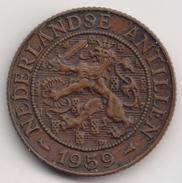 @Y@    Nederlandse Antillen   2 1/2  Cent  1959 ( 4577 ) - Antilles Neérlandaises