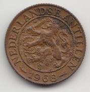 @Y@    Nederlandse Antillen   1  Cent  1968 ( 4578 ) - Antilles Neérlandaises