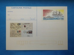 1992 ITALIA CARTOLINA POSTALE NUOVA NEW MNH** SERVIZIO POSTALE NAVI MARINA MILITARE - Italia