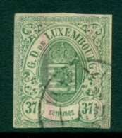 Luxembourg - 1859 - 37,5c Wapen, Used With Faults