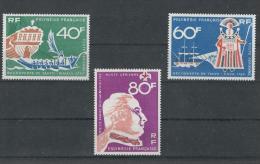 Polynesie, 1968, Discovery Of Tahiti, MNH, Michel 81-83, French Polynesia - Polynésie Française