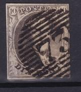 N° 6  Margé Planche III  Position 152 Retouche - 1851-1857 Médaillons (6/8)