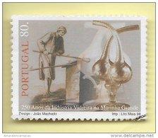 TIMBRES - STAMPS - PORTUGAL - 1998 - 250 ANS DE L'INDUSTRIE EN VERRE MARINHA GRANDE - TIMBRE OBLITÉRÉ - Portugal