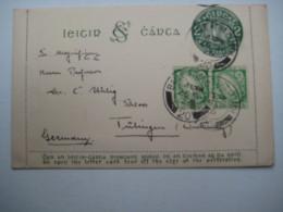 1926    , Ganzsache  Verschickt Nach Deutschland - Entiers Postaux