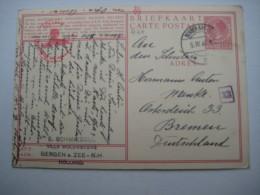 1940 , BRIEFKAART  Nach Deutschland - Periode 1891-1948 (Wilhelmina)