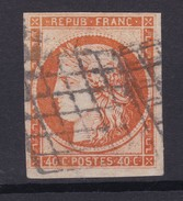 N° 5 Bien  Margé (paypal Ok ) - 1849-1850 Cérès