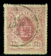 Luxembourg - 1865 - 12,5c Wapen Used