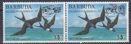 Barbuda 1975 Yvertnr 217-218  *** MNH Faune Oiseaux Birds Vogels Cote 22 Euro