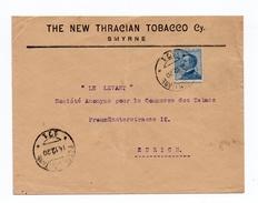 1920 - ENVELOPPE De SMYRNE (BUREAU ITALIEN AU LEVANT) Avec CACHET POSTA MILITARE - Oficinas Europeas Y Asiáticas