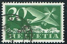 TIMBRE 1940 OBLITERE  CATALOGUE DES TIMBRES SUISSES Nr:F4y. Y&TELLIER Nr:4. MICHEL Nr:213y.