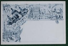 Anvers - Carte Précurseur - Exposition 1894 - Vieil Anvers - Etat Impeccable - Antwerpen