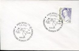 17923 ITALIA, Special Postmark 2002 Grigno, Trento, Cave Bigonda,showing A Bat,fledermaus, Chauve Souris